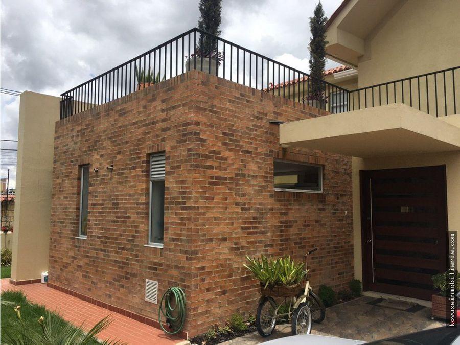 casa en venta en cajica condominio prada