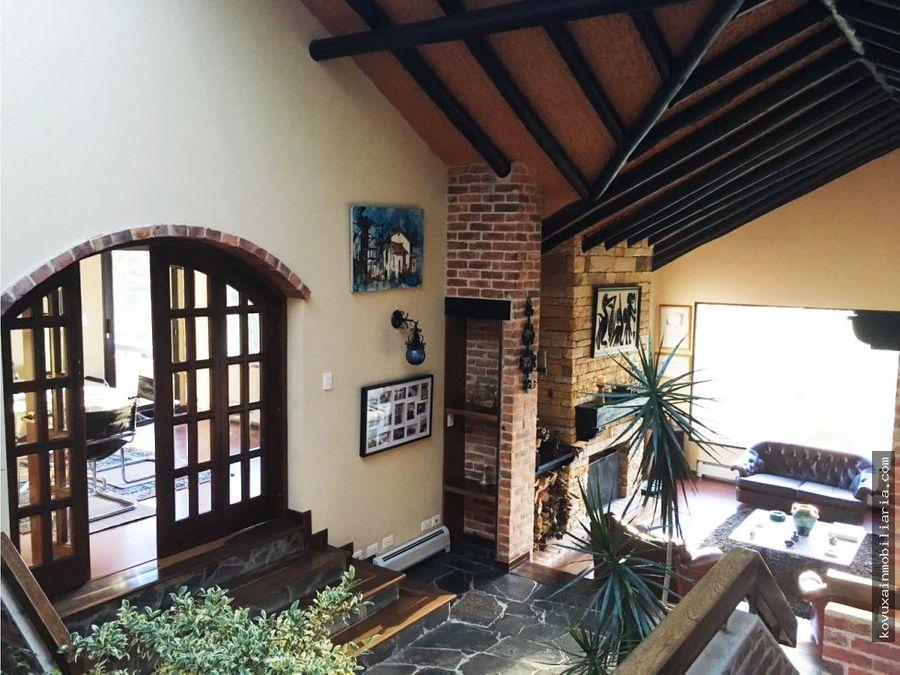 casa campestre en chia yerbabuena
