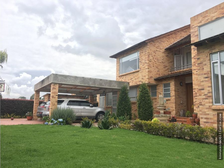casa en venta en cajica