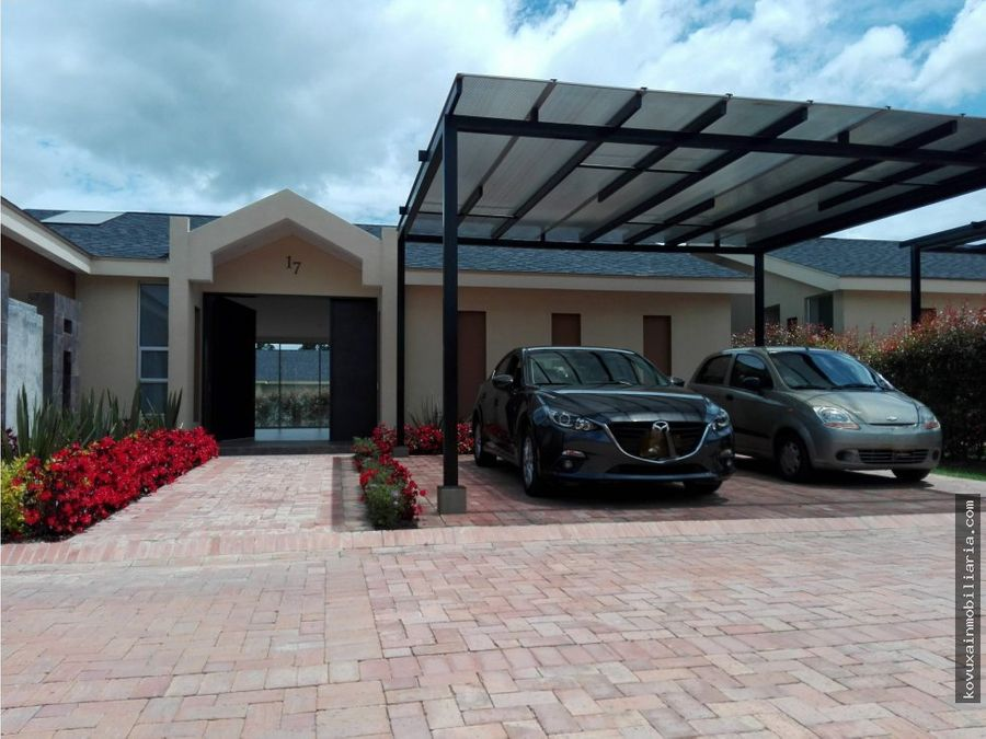 se vende casa cajica sector molinos
