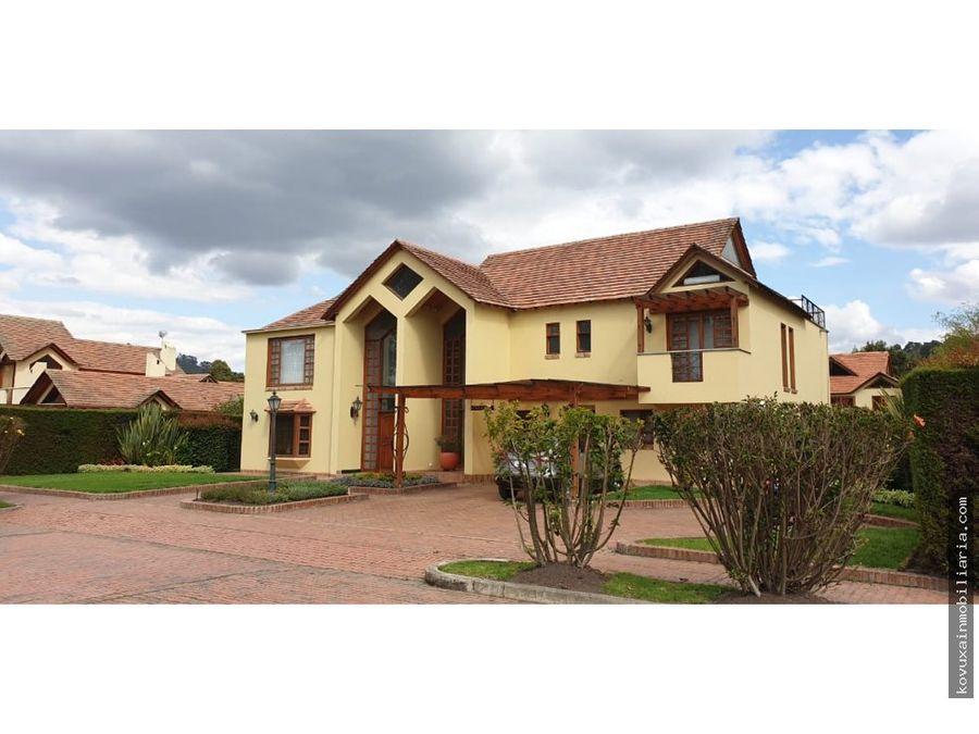 casa en venta en chia