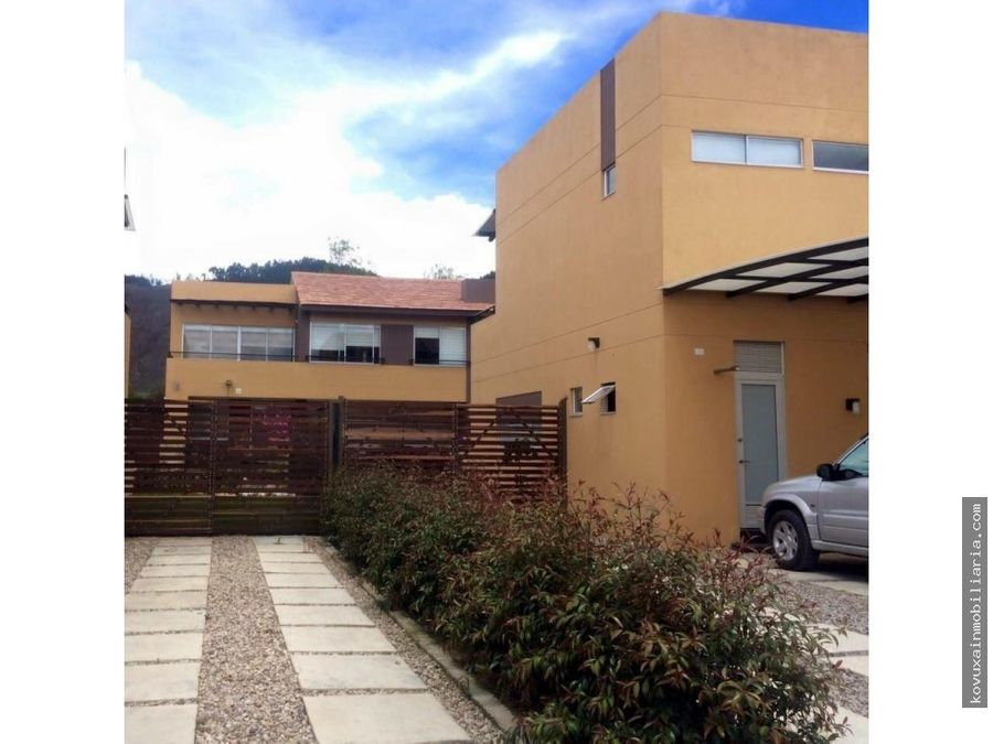 se vende casa en cajica ultima disponible