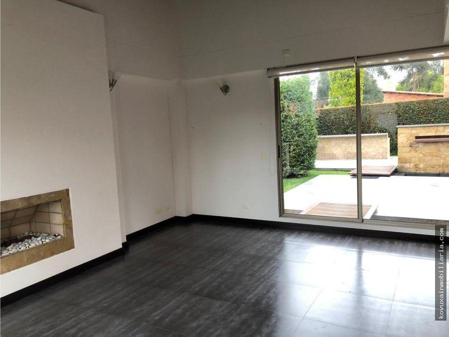 se vende exclusiva casa en cajica