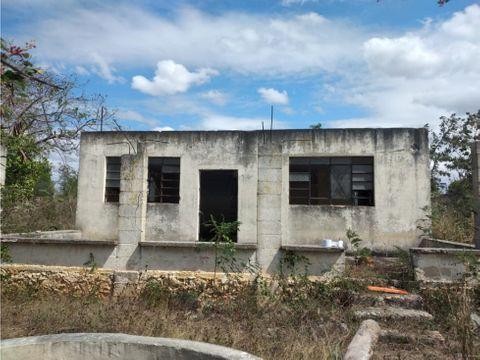 terreno con construccion en san antonio xluch merida yucatan