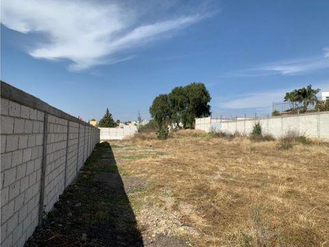 venta terreno puebla sur san fco totimehuacan