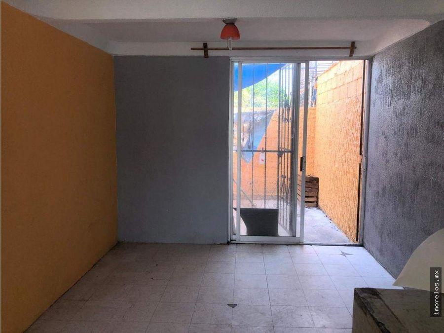 casa en fracccionamiento con vigilancia jiutepec