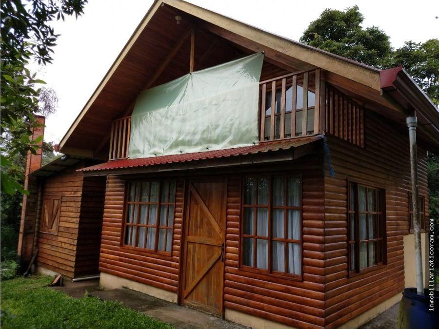se vende cabana naranjo