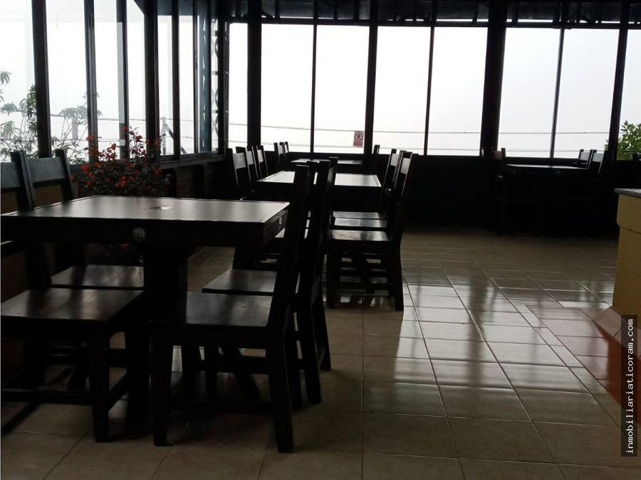 se vende restaurante y cabinas sarchi valverde vega costa rica