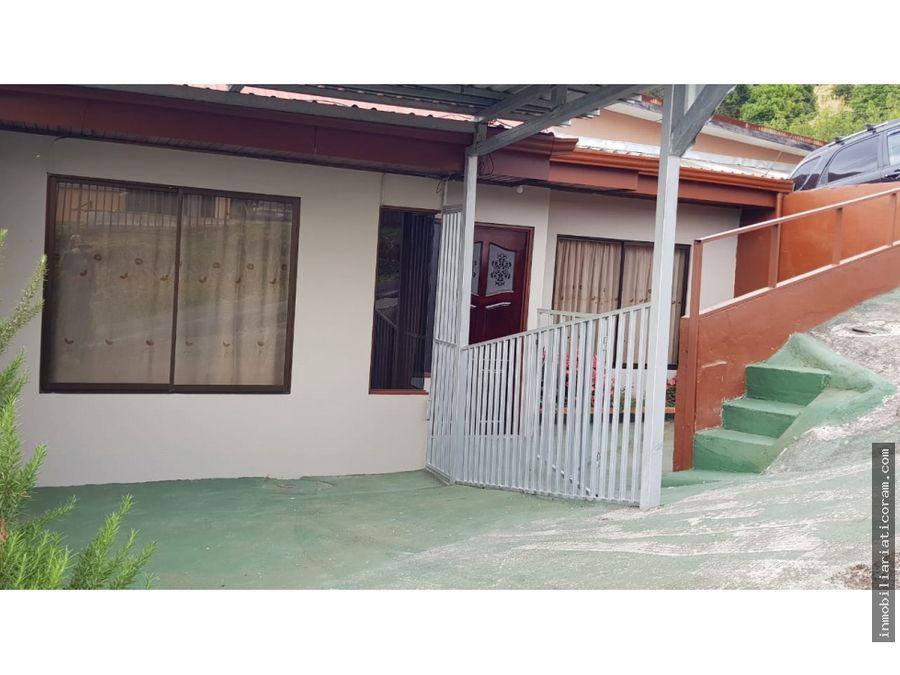 se vende casa en zarcero alajuela costa rica