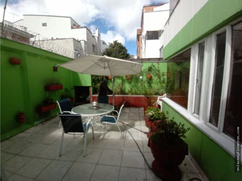 venta apto sector norte santa barbara con terraza de 30 metros