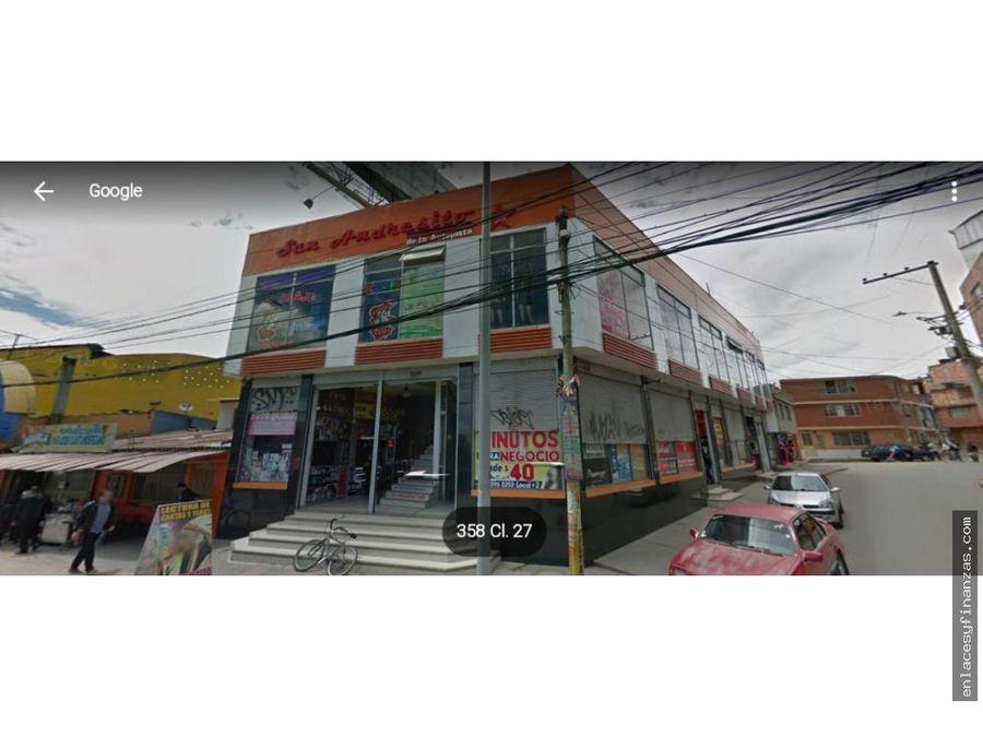 venta local soacha piso dos san andresito del sur