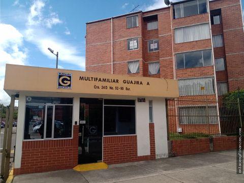 venta apto bogota ciudad tunal multifamiliar guajira a