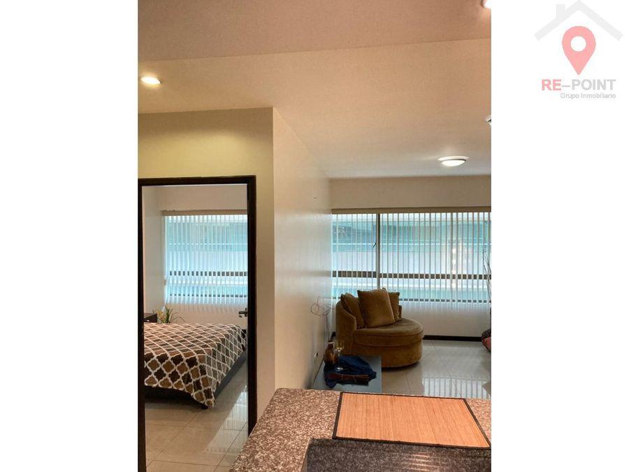 venta de suite amoblada torres del sol 2