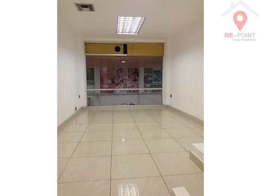 alquiler de local comercial centro comercial las vitrinas