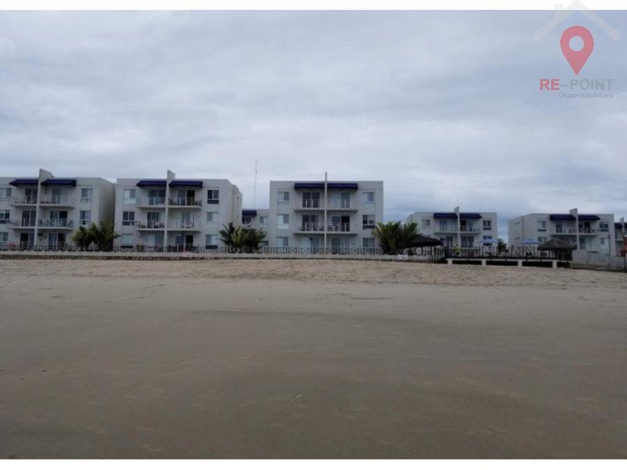 venta de departamento amoblado en la playa urb playa blanca