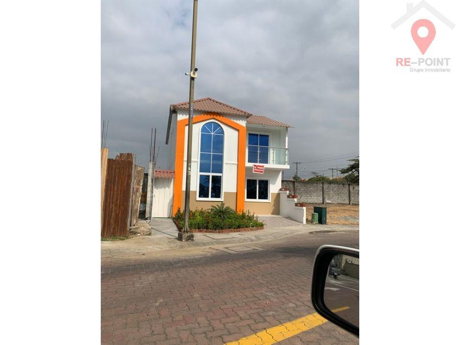 venta de casa 2 plantas villa club etapa magna