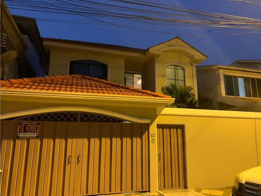 venta de casa via samborondon