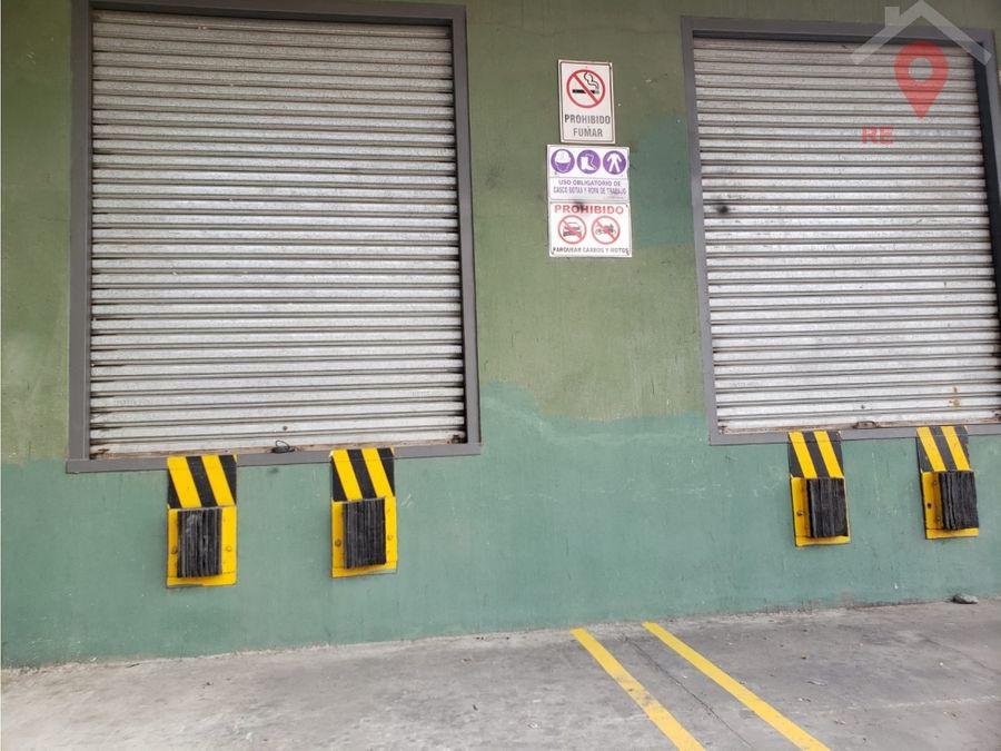 alquiler de bodegas galpones centro logistico via daule