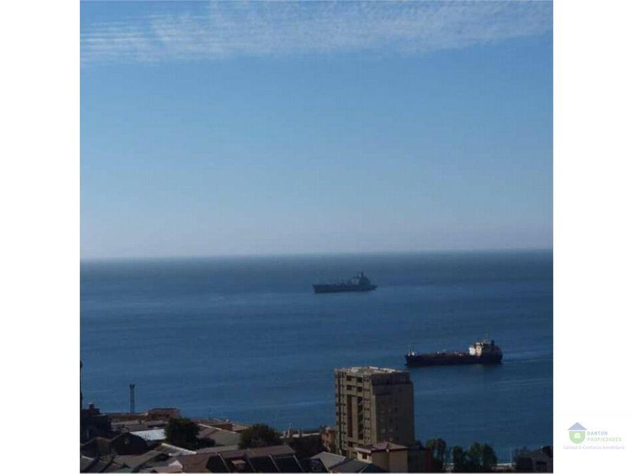 se vende depto vista al mar c0 baron valparaiso