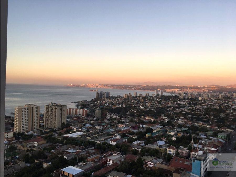 departamento amoblado edificio alto placeres valparaiso