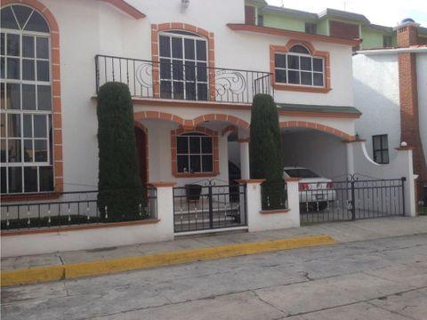 casa en venta en metepec residencial citlalli