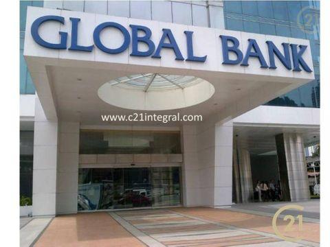 torre global bank en calle 50