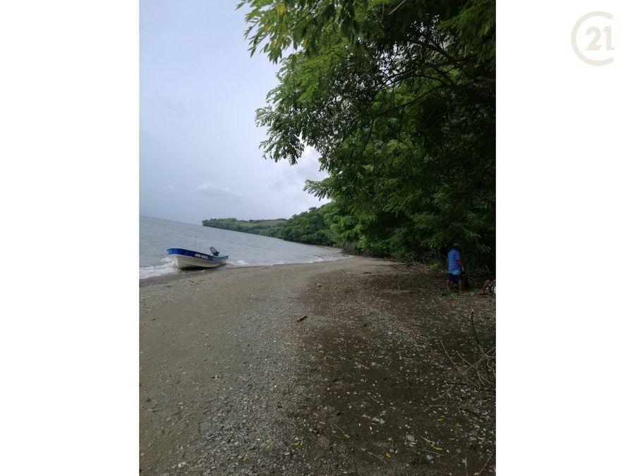 terreno en isla cebaco provincia de veraguas