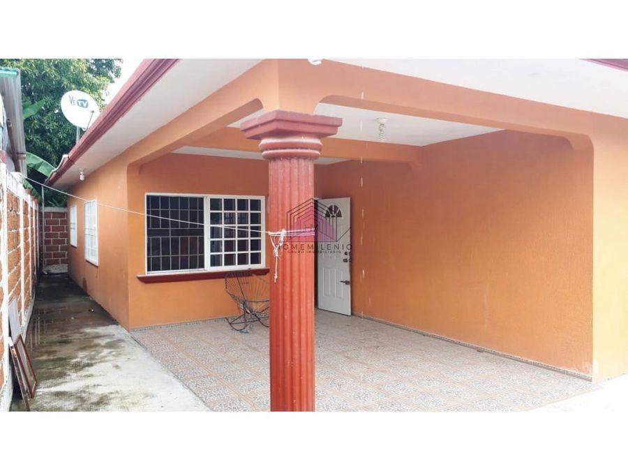 venta casa en col federico garcia blanco de tuxpan veracruz