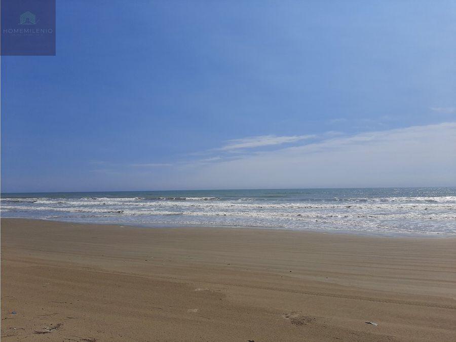 terreno en venta en la playa