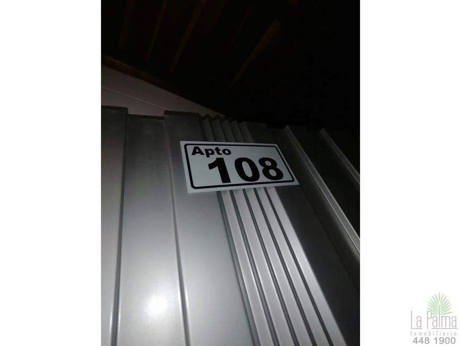 apartaestudio en arriendo en campo valdes cod 5874