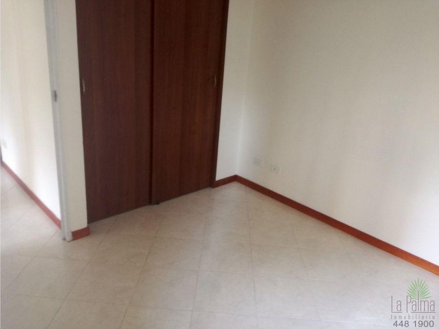 apartamento en arriendo las palmas cod 5794