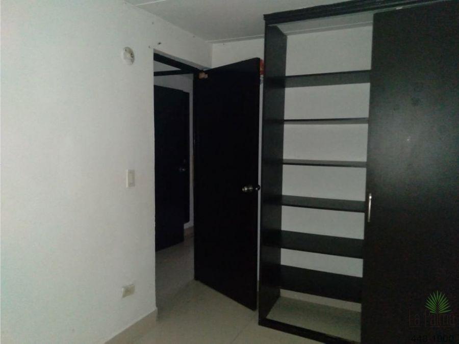 apartamento en arriendo en la milagrosa cod 6165