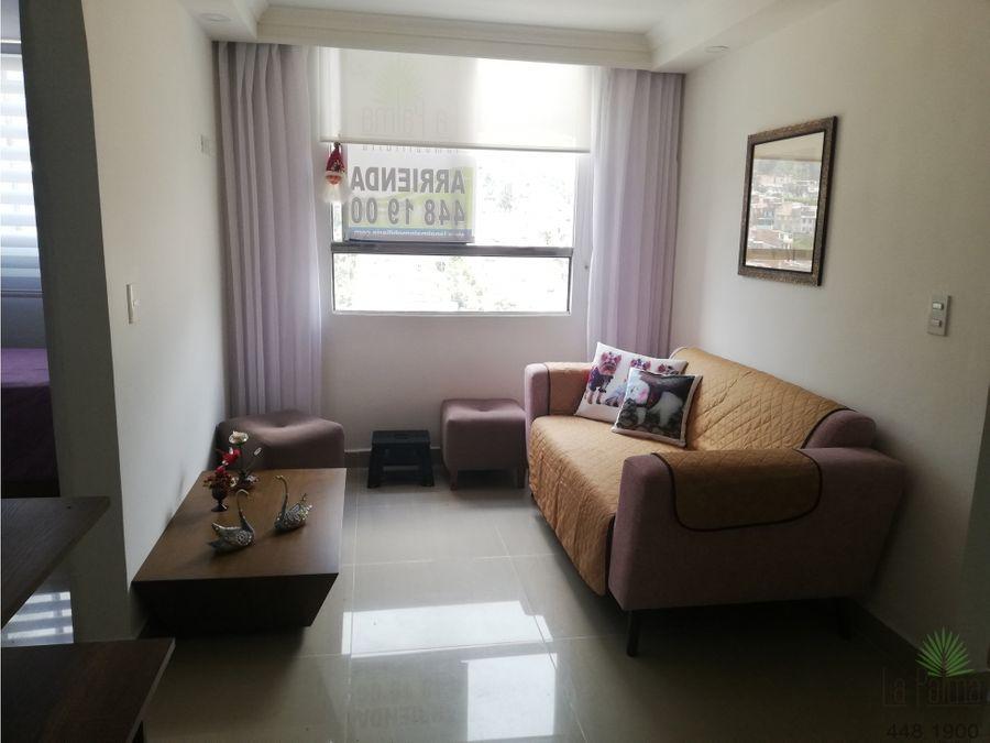 apartamento en arriendo en medellin cod 6101