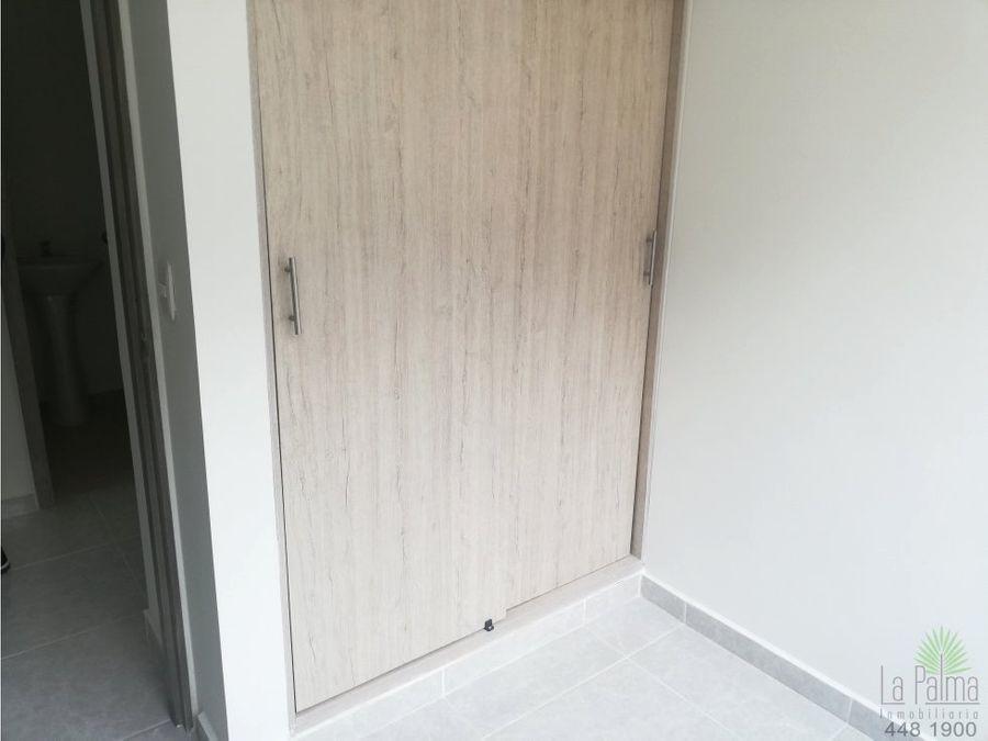 apartamento en arriendo en la estrella cod 5917