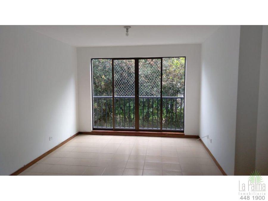 apartamento en arriendo en poblado cod 6407