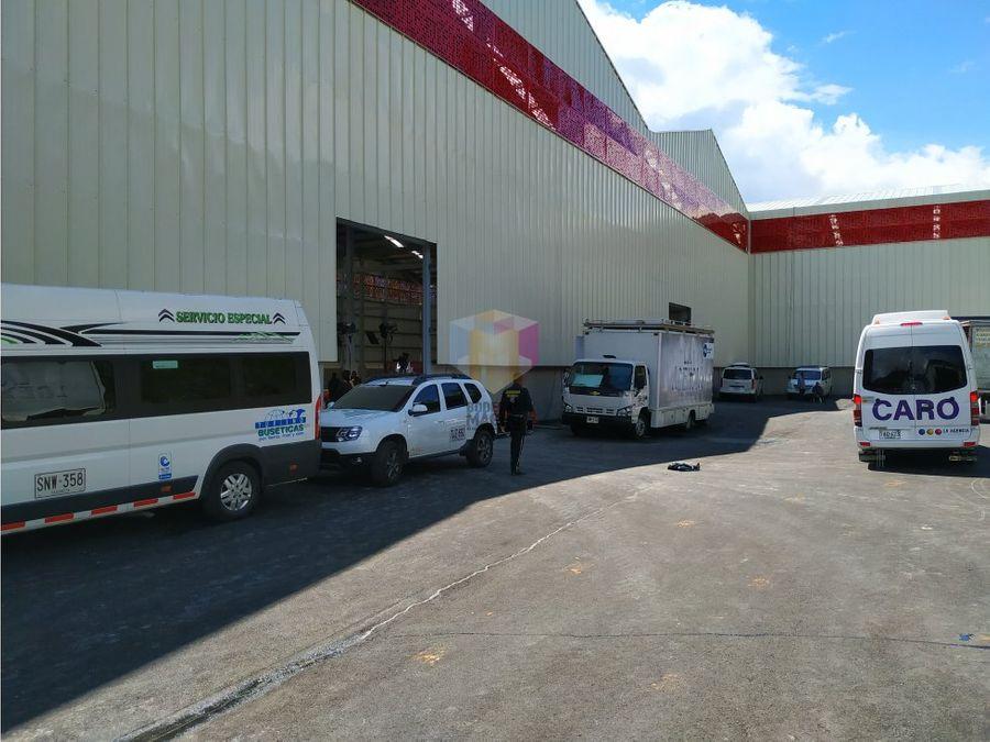 bodega arriendo copacabana 2173m2 parque industrial