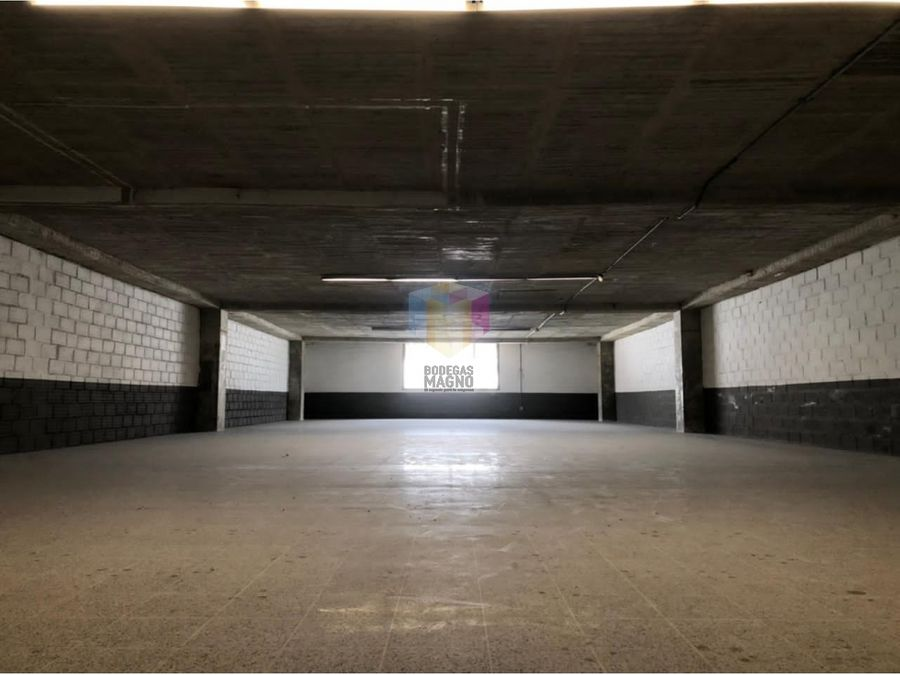 bodega para arriendo en itagui 335m2 parque industrial