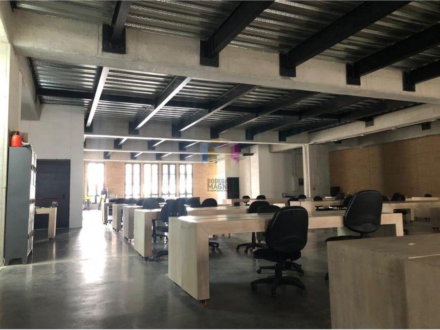 oficina local para arriendo 631m2 barrio colombia