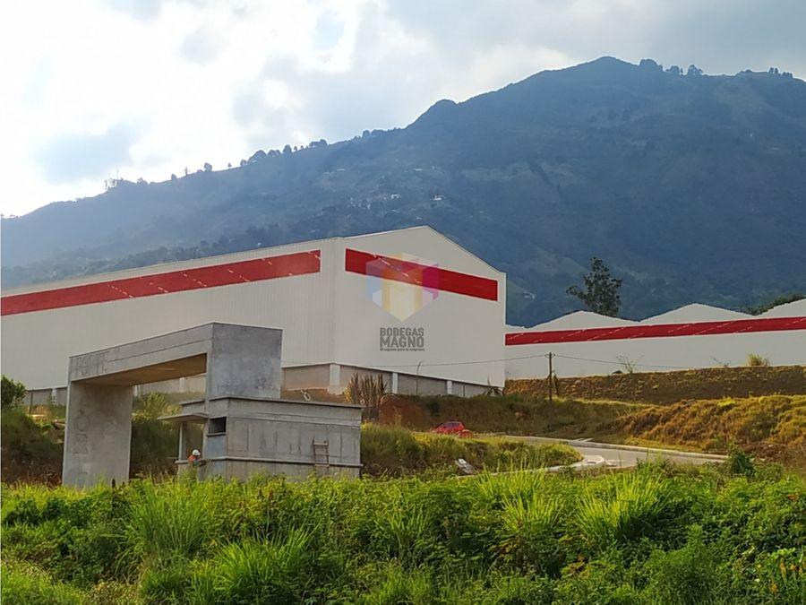 bodega arriendo copabana 450m2 parque industrial forte medellin