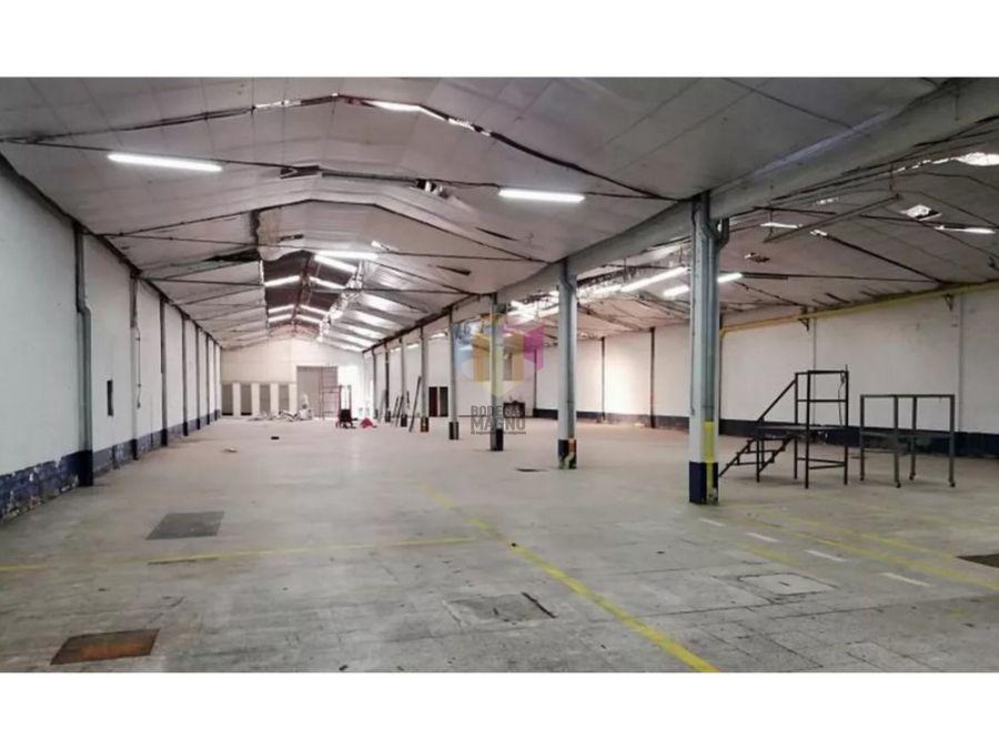 bodega arriendo itagui 1079 m2 parque industrial