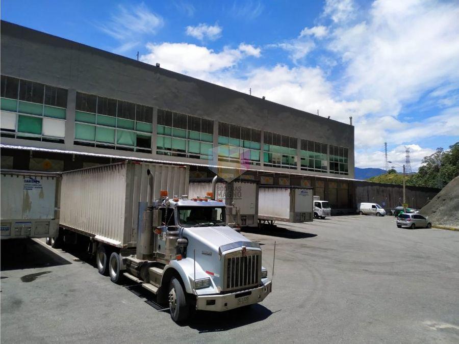 bodega arriendo medellin 9100m2 parque industrial