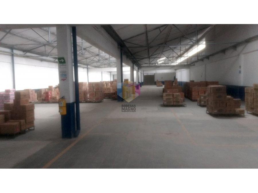 bodega arriendo itagui 3176 m2 parque industrial