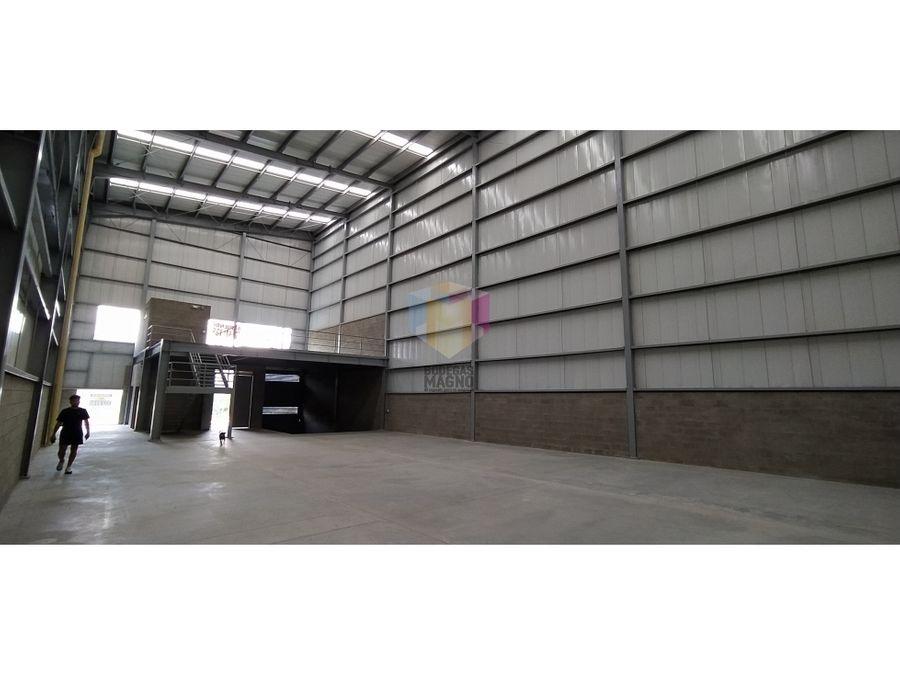oferta bodega arriendo venta copacabana 532m2 parque industrial