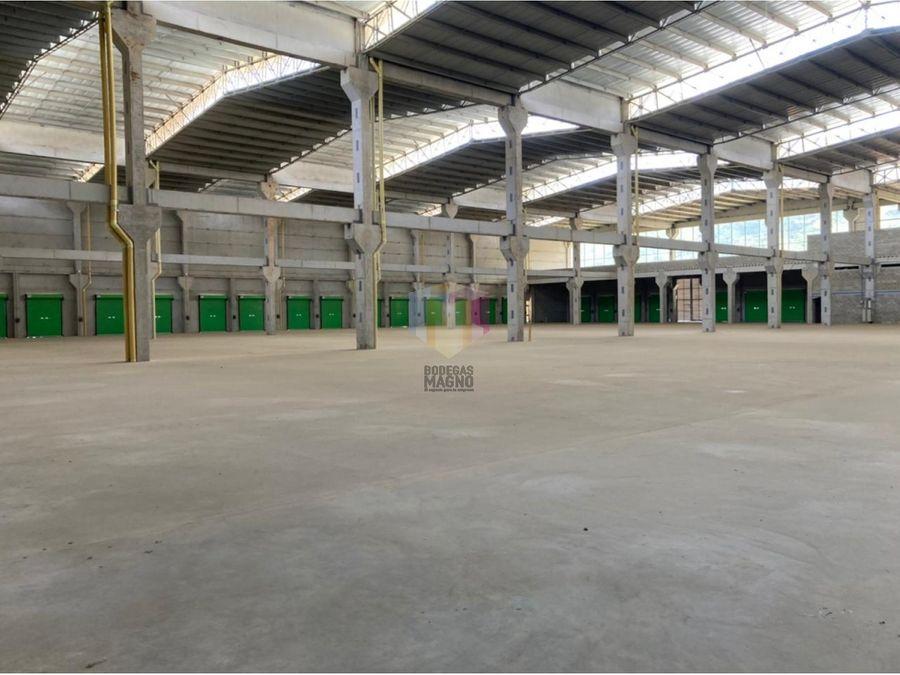 bodega arriendo girardota 4929m2 parque industrial