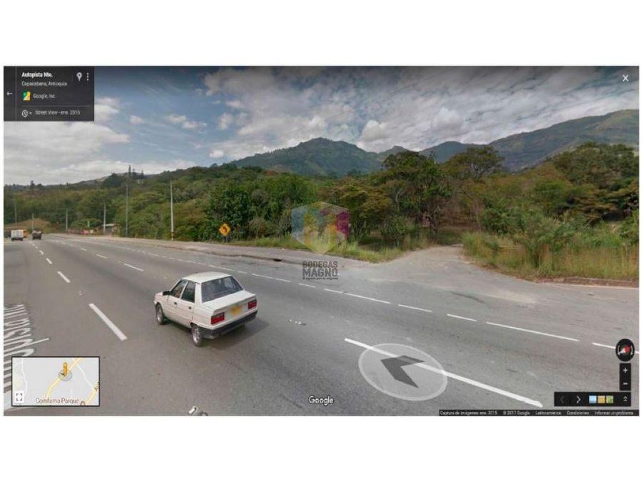 lotes urbanizados para bodegas en venta copacabana