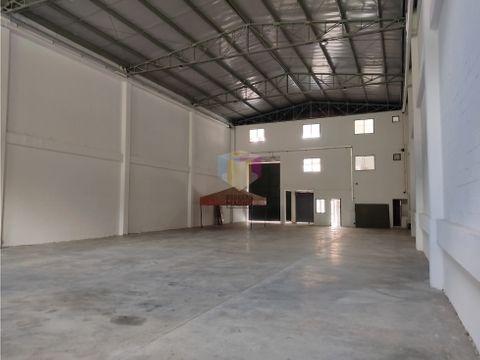bodega arriendo la tablaza 900 m2 parque industrial medellin