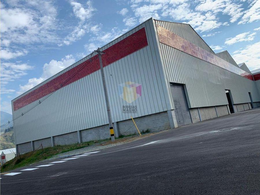 bodega arriendo bello 922m2 parque industrial