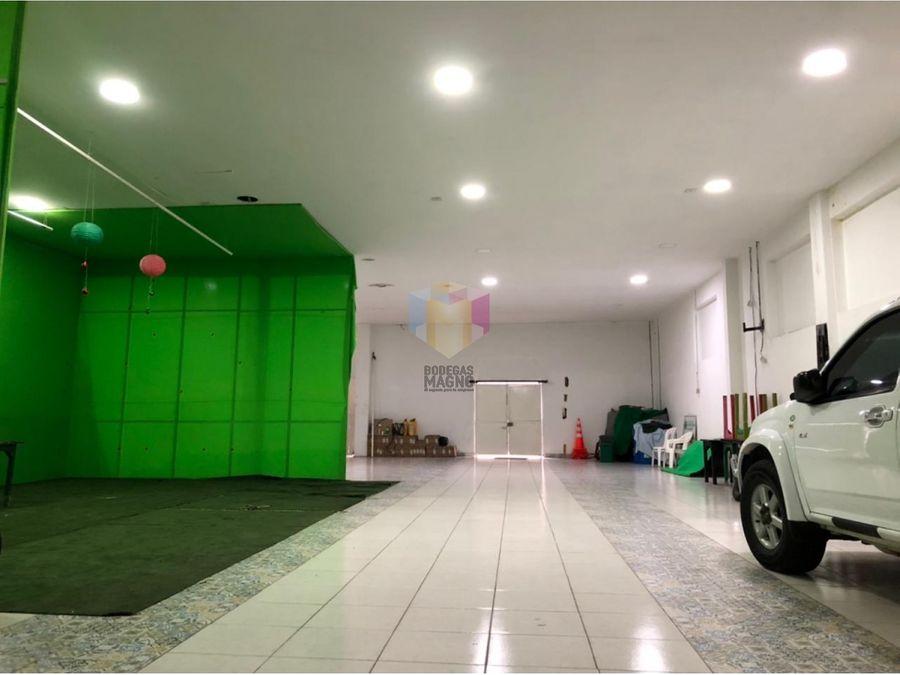 bodega arriendo barrio colombia 400 m2
