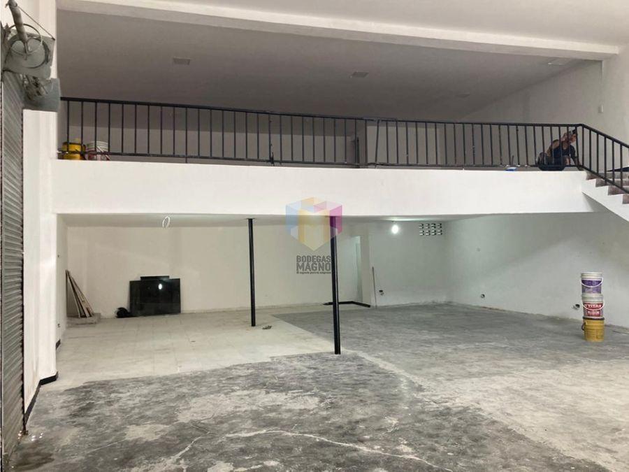 bodega local para arriendo sector barrio colombia 200m medellin