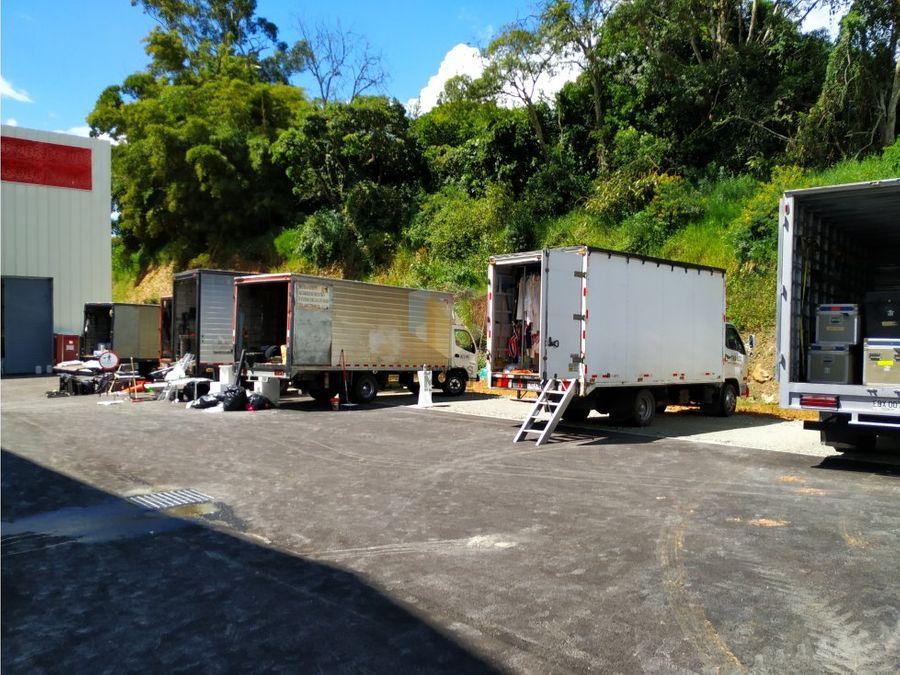 bodega arriendo copacabana 922m2 parque industrial